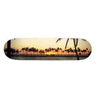 Kona Sunset  board Skateboard Deck