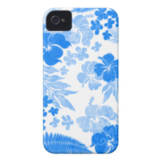 Kona Times Hibiscus White iPhone 4 Cases