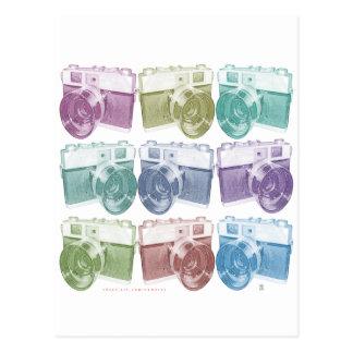 Konica camera post cards