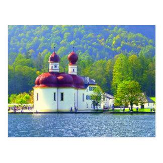 Königsee St. Bartholomä Postcard