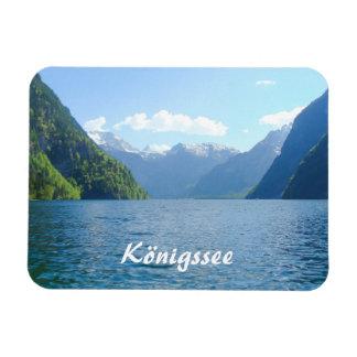 Königssee Lake in Germany, Bavaria Magnet