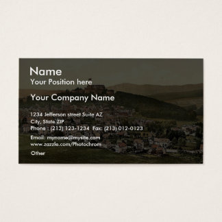 Konigstein in the Taunus, Frankfort on Main (i.e. Business Card