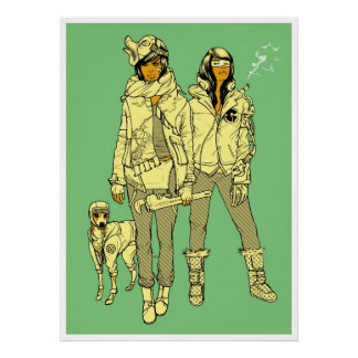 Konni, Lace, & Leroy Brown Poster