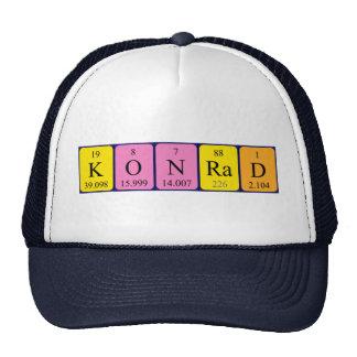 Konrad periodic table name hat