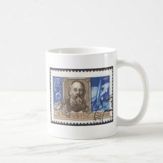 Konstantin Tsiolkovsky Russian Soviet Scientist Coffee Mug