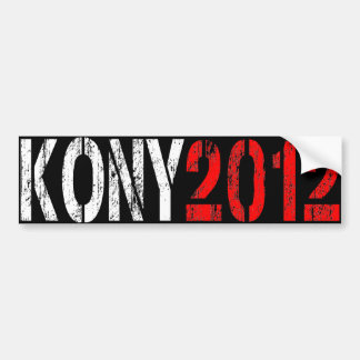 KONY 2012 BUMPER STICKER