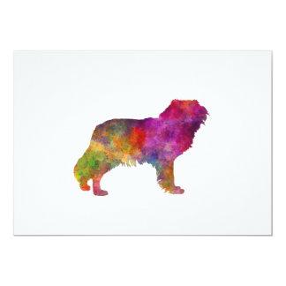 Kooikerhondje in watercolor card