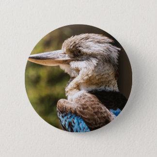 Kookaburra 2 Inch Round Button