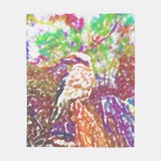 Kookaburra Fleece Blanket