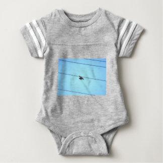 KOOKABURRA IN FLIGHT QUEENSLAND AUSTRALIA BABY BODYSUIT