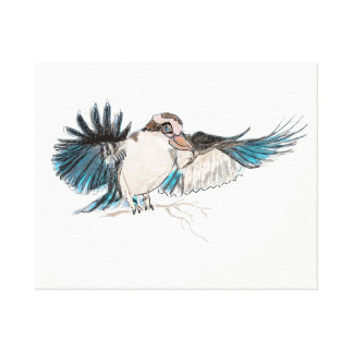 Kookaburra on Canvas