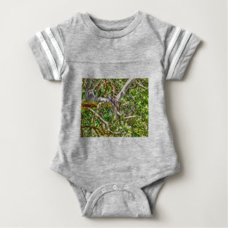 KOOKABURRA QUEENSLAND AUSTRALIA ART EFFECTS BABY BODYSUIT