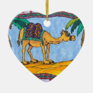 Kooky Camel Ornament