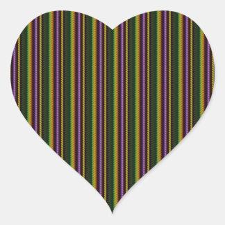 KOOL Dark Shade Pattern by NavinJOSHI NVN45 GIFTS Heart Sticker