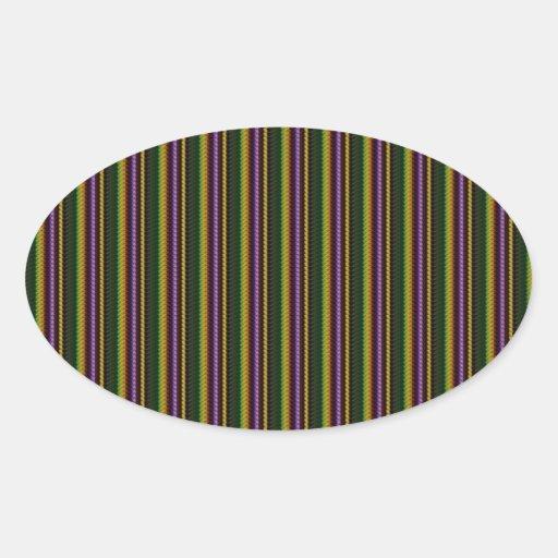 KOOL Dark Shade Pattern by NavinJOSHI NVN45 GIFTS Oval Sticker