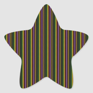 KOOL Dark Shade Pattern by NavinJOSHI NVN45 GIFTS Star Sticker