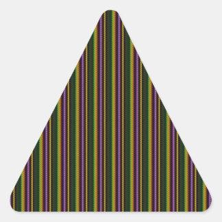 KOOL Dark Shade Pattern by NavinJOSHI NVN45 GIFTS Triangle Sticker