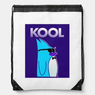 KOOL Penguin™ Brand Drawstring Backpack