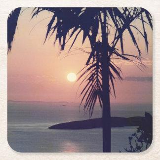 Koolan Sunrise Square Paper Coaster
