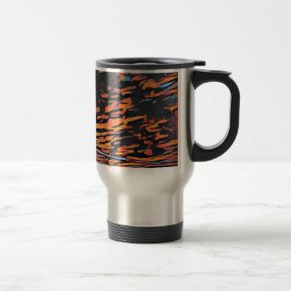 Ko'olina sunset travel mug