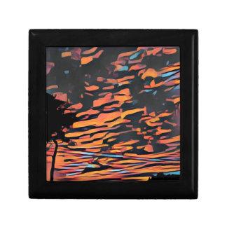 Ko'olina sunset trinket boxes