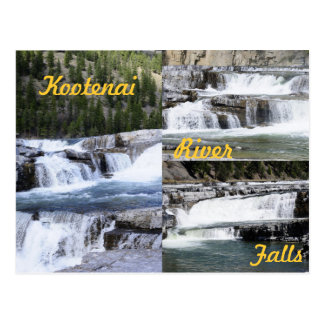 Kootenai River Falls, Montana! Postcard