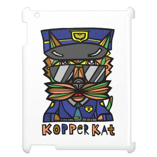 """""""Kopper Kat"""" 631 Art iPad Case"""