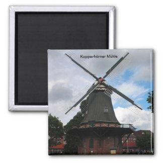 Kopperhörner mill/Wilhelmshaven/Germany Magnet