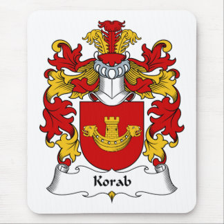 Korab Family Crest Mouse Pad