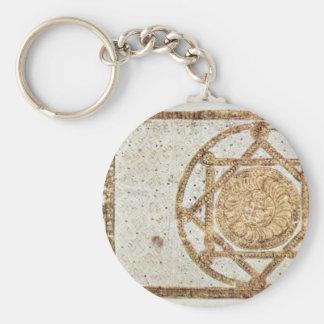 Koran Cover By Syrischer Maler Um 900 Keychain