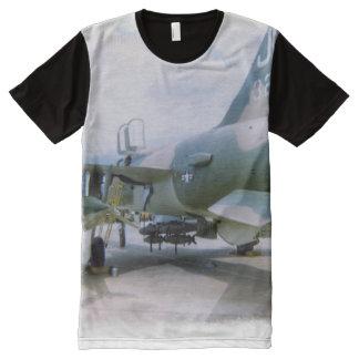 Korat AFB Thailand 1968 F-105 All-Over-Print T-Shirt