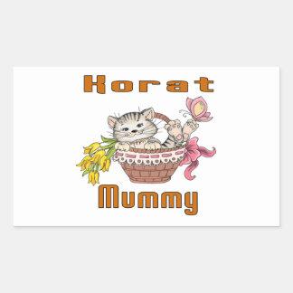 Korat Cat Mom