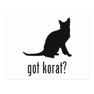 Korat Cat Postcard