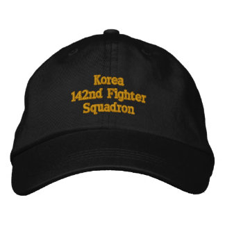 Korea Conflict Embroidered Hat