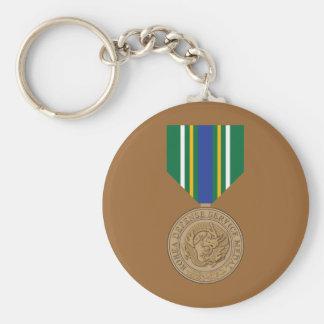 Korea Defense Service Medal Keychain