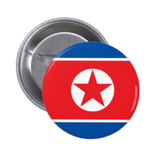 korea north 2 inch round button