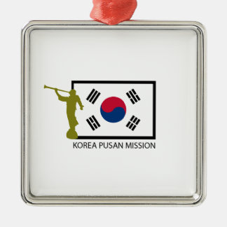 KOREA PUSAN MISSION LDS CTR METAL ORNAMENT