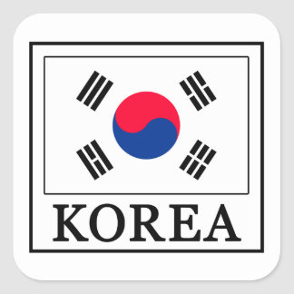 Korea Sticker