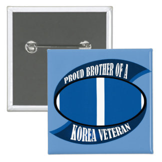 Korea Vet Brother 2 Inch Square Button