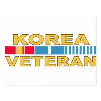 Korea Veteran Postcard