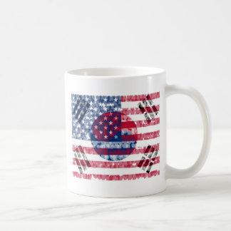 Korean-American Flag Mug