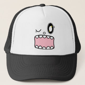 KOREAN CAT TRUCKER HAT