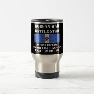 Korean Defense Summer - Fall Campaign 15 Oz Stainless Steel Travel Mug