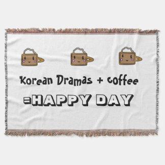 Korean Drama blankie Throw