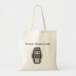 Korean Drama Cafe Budget Tote Bag