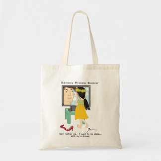 """Korean Drama Queen™ Tote Bag """"Don't Bother Me..."""""""