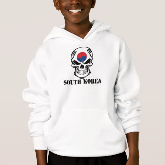 Korean Flag Skull South Korea