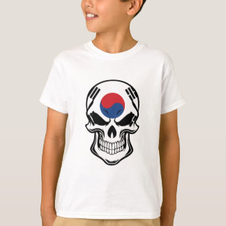 Korean Flag Skull T-Shirt