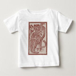 Korean Folk Art Tiger Baby T-Shirt