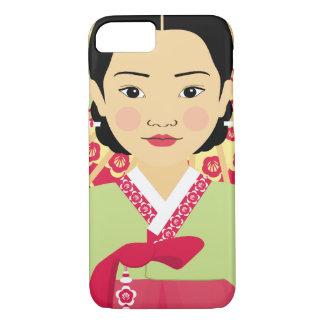 Korean Girl Matryoshka Case